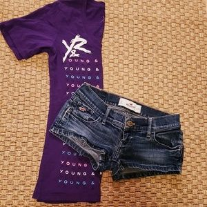 Young & Reckless T and Shortie Short Bundle!
